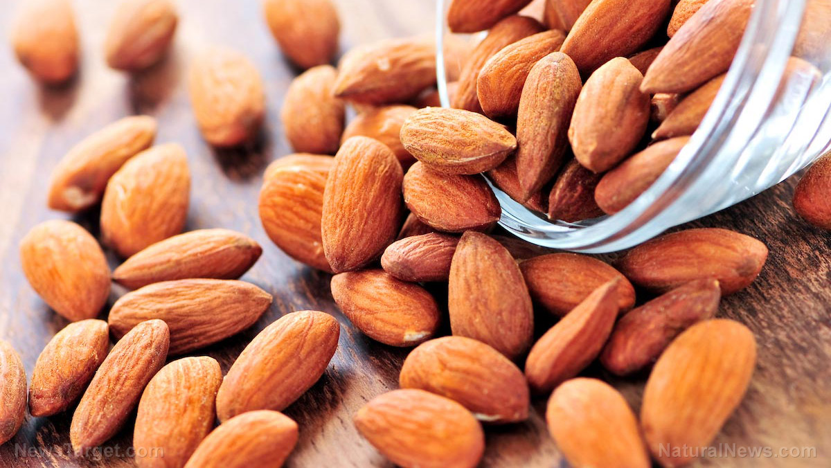 Munching on almonds is a great way to regulate your blood sugar levels