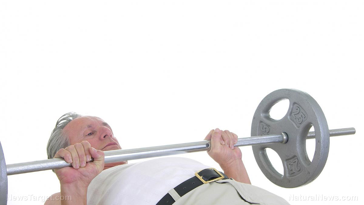 New study finds older adults should pump more iron: Weight